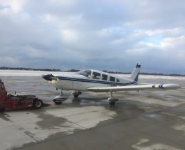 SOLD! 1975 Piper Cherokee 6-300 Very nice with upgrades! JPI 830! 1500lbs. useful load!