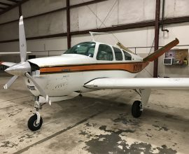 1973 V35B Beechcraft 2500TTAF, 1165 SMOH, 1102 Useful load!