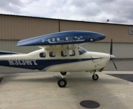 Air-conditioning! No Known Damage Hist. 2020 ADS-B in/ out equipped! Beautiful! Garmin GTN 750/345 transponder with traffic & Weather blue tooth to iPad, Riley Rocket 1979 Cessna P210N With STOL and Speed brakes! Long Range tanks rear aux! Turbo intercooler! June Cessna service center annual!