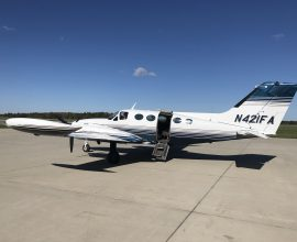 1973 Cessna 421B Nice! Garmin GTN 750 well equipped!