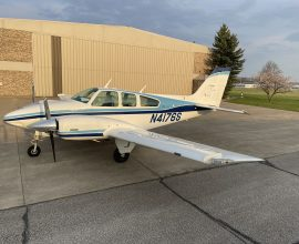 Rarest Opportunity! 1975 Beechcraft Baron B55 (600) TOTAL TIME Since NEW! Lowest time B55 in the world! Museum Condition! Complete Avionics upgrade with all Garmin upgrades GTN 750 GTN650, Dual Aspens! 345 audio, 345 Transponder