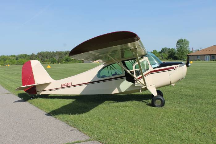 What Is Transmission >> 1946 Aeronca – 7AC Champ