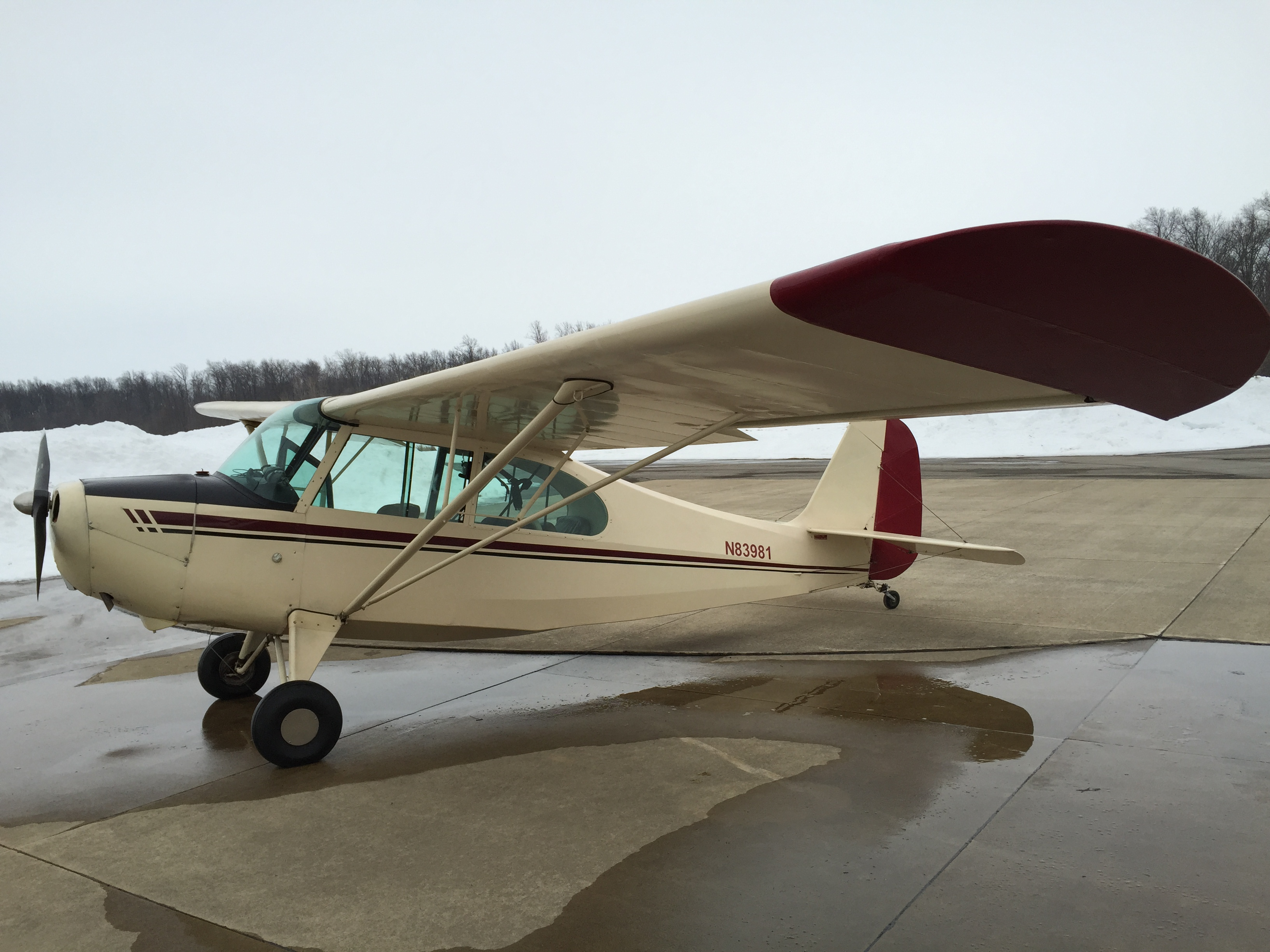 Make A Car >> 1946 Aeronca – 7AC Champ