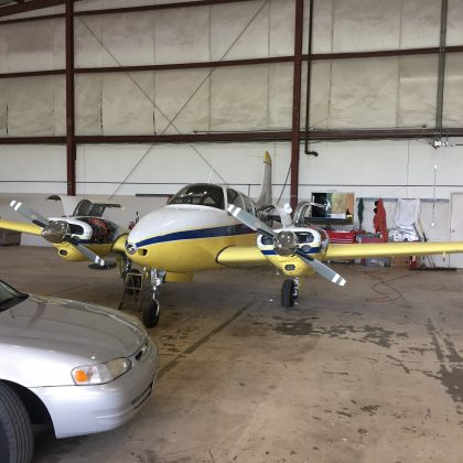 1962 Beechcraft Travel Air BE95A, Very Nice with a lot of new stuff!